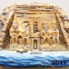 The Great Temple of Abu Simbel EGYPT High Quality Resin 3D fridge magnet