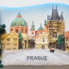Charles Bridge Prague Centre Capital of Czech Republic 3D fridge magnet