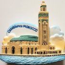 Hassan II Mosque Casablanca MOROCCO High Quality Resin 3D fridge magnet