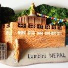 The Dhamekh Stupa, Kapilavastu Buddhist Lumbini Nepal 3D fridge magnet