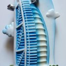 Dubai Burj Al Arab Emirates U.A.E. High Quality Resin 3D fridge magnet