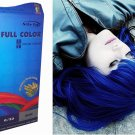 Premium Permanent Hair Colour Cream Dye Bright Blue 0_33 Punk Goth by Starlist