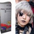 Premium Permanent Hair Colour Cream Dye Punk Goth 0/11 Silver Ash Grey GRAY