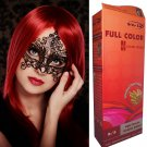 Premium Permanent Hair Colour Cream Dye Light Blonde Red Reflect Punk Goth 8/5