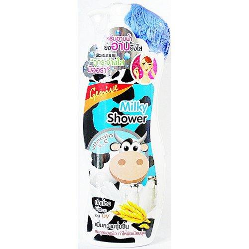 milky shower cream ( 1 liter )