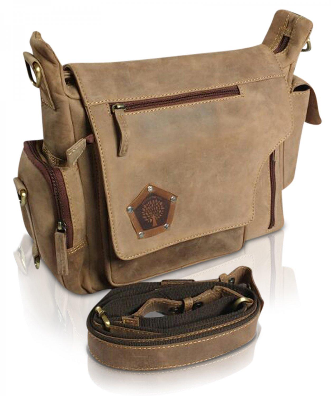 Genuine Leather Laptop Bag Vintage Saddleback Messenger Men's Shoulder Satchel CHRISTMAS SALE Gifts