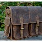 Leather Camera Bag Brown Waterproof DSLR; SLR Vintage Laptop Shoulder Messenger CHRISTMAS SALE