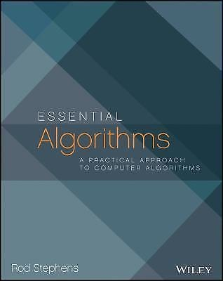 BUY Essential Algorithms A Practical Approach to Computer Algorithms-Buy College Books