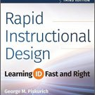 BUY Rapid Instructional Design Book: Learning ID Fast and Right-Buy College Books