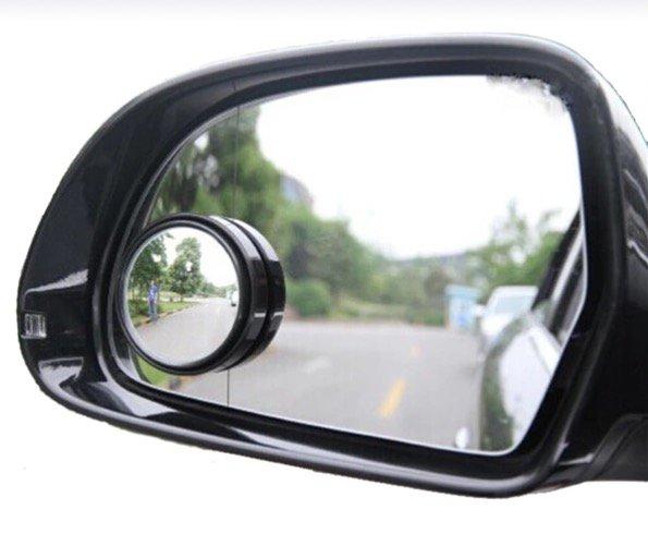 Car Auto Blind Spot Mirror Glass Convex Rear View Mirror, Pack of 2