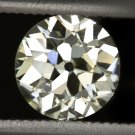 GIA CERTIFIED 1ct VS1 VINTAGE OLD EUROPEAN CUT DIAMOND MINE ANTIQUE ART DECO 20s