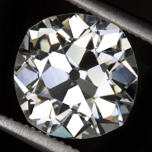 GIA CERTIFIED 2ct ANTIQUE OLD MINE CUT DIAMOND LOOSE J VS2 VINTAGE ENGAGEMENT