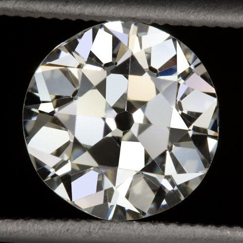 2 CARAT GIA CERTIFIED K VVS2 OLD EUROPEAN CUT DIAMOND LOOSE ENGAGEMENT VINTAGE