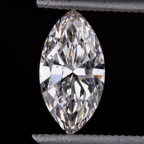 RARE GIA CERTIFIED NATURAL FANCY PINK 3/4 CARAT ANTIQUE MARQUISE DIAMOND VINTAGE