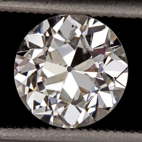 1.40c OLD EUROPEAN CUT DIAMOND H VS2 EGL-USA CERTIFIED VINTAGE ANTIQUE 1.5 CARAT
