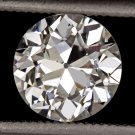 1.40c OLD EUROPEAN CUT DIAMOND H VS2 EGL-USA CERTIFIED VINTAGE ANTIQUE 1.5 CARAT