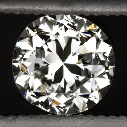 1900s OLD EUROPEAN CUT DIAMOND J-K VS1 ROUND ENGAGEMENT VINTAGE NATURAL 0.58ct