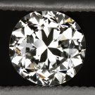 1900s OLD EUROPEAN CUT DIAMOND J-K VS1 ROUND ENGAGEMENT VINTAGE NATURAL 0.58ct