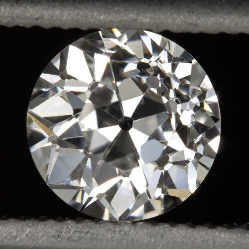 GIA CERTIFIED G VS2 OLD EUROPEAN CUT DIAMOND ANTIQUE ART DECO VINTAGE 0.64 MINE