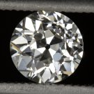 GIA CERTIFIED G VS2 OLD EUROPEAN CUT DIAMOND ANTIQUE ART DECO VINTAGE 0.64 MINE