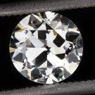 GIA CERTIFIED VINTAGE G SI2 OLD EUROPEAN CUT DIAMOND ESTATE 1920s 0.82ct ROUND