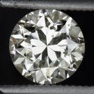 1 CARAT VINTAGE OLD TRANSITIONAL CUT DIAMOND EGL-USA CERTIFIED ENGAGEMENT 1ct