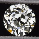 VINTAGE OLD EUROPEAN CUT LOOSE DIAMOND I SI1 ROUND MINE ESTATE ANTIQUE COCKTAIL