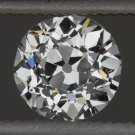 GIA CERTIFIED E SI1 1900s VINTAGE OLD EUROPEAN CUT DIAMOND LOOSE 2/3ct ANTIQUE