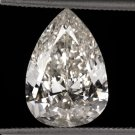 3 CARAT NATURAL PEAR SHAPE DIAMOND EGL-USA CERTIFIED VINTAGE TEAR DROP PENDANT