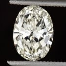 1.27ct OVAL SHAPE CUT DIAMOND LOOSE K SI1 ENGAGEMENT 8.3mm X 6mm NATURAL CUSHION