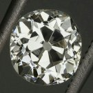 0.93ct ANTIQUE J VS2 OLD MINE CUT DIAMOND EGL-USA CERTIFIED ROUND LOOSE VINTAGE