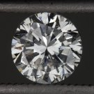 0.65ct ROUND BRILLIANT CUT DIAMOND D SI2 EGL-USA CERTIFIED ENGAGEMENT SOLITAIRE