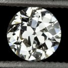 1/2ct VINTAGE OLD EUROPEAN CUT DIAMOND G SI2 EGL-USA CERTIFIED ART DECO ANTIQUE