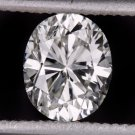 0.71ct OVAL DIAMOND G SI1 LOOSE EGL-USA CERTIFIED ENGAGEMENT 3/4 CARAT NATURAL