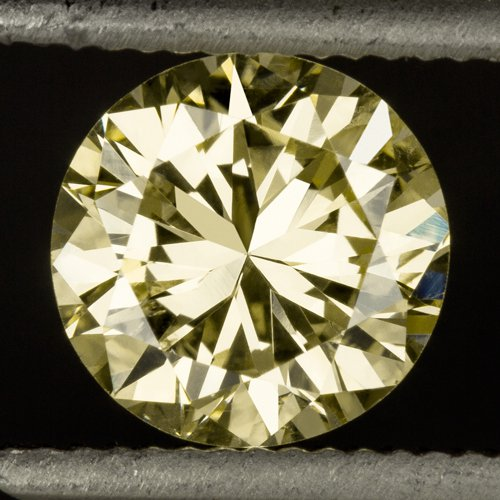 GIA CERTIFIED NATURAL 3/4ct FANCY YELLOW ROUND BRILLIANT CUT DIAMOND CANARY REAL