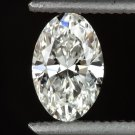1/2 CARAT DIAMOND GIA CERTIFIED H VS1 OVAL SHAPE CUT LOOSE NATURAL NO FL 0.48ct