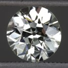 1.16ct OLD EUROPEAN CUT DIAMOND I COLOR EGL-USA CERTIFIED VINTAGE ROUND LOOSE OE