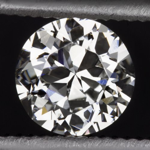 VINTAGE G VS1 OLD TRANSITIONAL CUT DIAMOND RETRO LOOSE ROUND 1/2 CARAT 5mm EURO