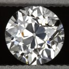 H VS1 VINTAGE OLD EUROPEAN CUT DIAMOND 1/2 CARAT LOOSE ROUND ESTATE 20s ANTIQUE