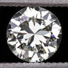 NATURAL ROUND DIAMOND J VS2 4.9mm LOOSE UNTREATED ENGAGEMENT SOLITAIRE JEWELRY
