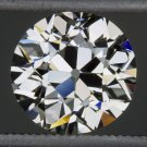 2.31ct VINTAGE I VS2 DIAMOND EGL-USA CERTIFIED 2 CARAT OLD EUROPEAN CUT ANTIQUE