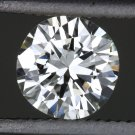 1/2 CARAT EXCELLENT CUT H VVS2 ROUND DIAMOND EGL-USA CERTIFIED LOOSE ENGAGEMENT