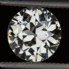 1.02ct VINTAGE ART DECO OLD EUROPEAN CUT DIAMOND J VS1 EGL CERTIFIED LOOSE ROUND
