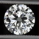1ct VINTAGE RARE E SI2 OLD EUROPEAN CUT DIAMOND EGL-USA CERTIFIED 6.4mm 1 CARAT