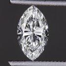 GIA CERTIFIED 0.71ct F VS2 MARQUISE CUT DIAMOND ENGAGEMENT LOOSE VG POLISH NO FL