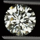 1.27 CARAT IDEAL EXCELLENT CUT ROUND DIAMOND VINTAGE 7MM ENGAGEMENT LOOSE 1.30ct