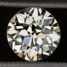 GIA CERTIFIED 1ct FLAWLESS DIAMOND N VVS2 VINTAGE OLD EUROPEAN CUT ESTATE 1920s