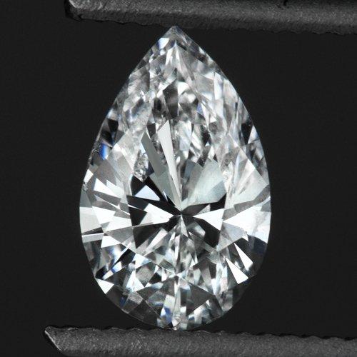 1/2 CARAT D COLOR PEAR SHAPE DIAMOND SI LOOSE TEAR DROP 0.50ct NATURAL PENDANT