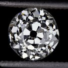 GIA CERTIFIED H VS2 0.86ct OLD EUROPEAN CUT ANTIQUE DIAMOND 1900 ESTATE VINTAGE