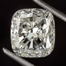 2.14ct CUSHION CUT H Si2 SQUARE DIAMOND LOOSE EGL-USA CERTIFIED NATURAL 2 CARAT